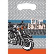 8 Pochettes à Cadeaux Moto Bikers