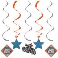 5 D�corations � suspendre Bikers
