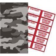 6 Pochettes à Cadeaux Forces Armées