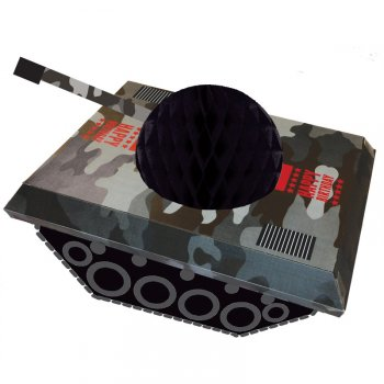 Centre de Table Tank Forces Armées