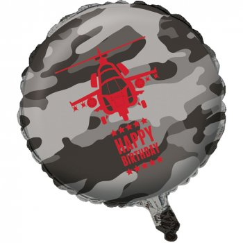 Ballon Mylar Forces Armées