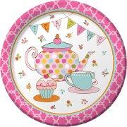 8 Assiettes Tea Time