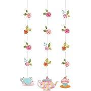 3 D�corations � Suspendre Tea Time