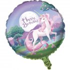 Ballon Mylar Licorne Féerique