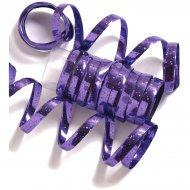 10 Serpentins Holographiques Violet (1,98 m)