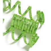 10 Serpentins Holographiques Vert (1,98 m)