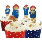 12 Décors à Cupcakes Paddington comestibles (Azyme)