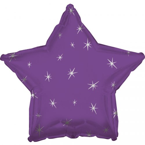 Ballon Mylar Etoile Violet