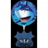 Ballons Centre de Table Requin