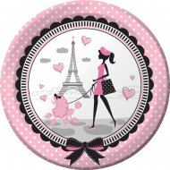 8 Assiettes Paris Chic