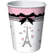8 Gobelets Paris Chic
