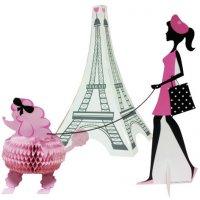 Contient : 1 x Centre deTable Paris Chic