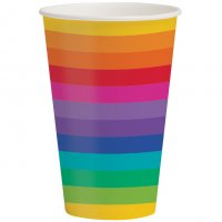 Contient : 1 x 8 Gobelets Rainbow Fun
