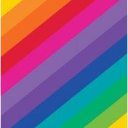 16 Serviettes Rainbow Fun