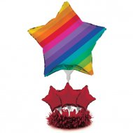 Ballon Centre de Table Rainbow Fun