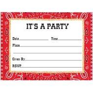 8 Invitations Texas Spirit