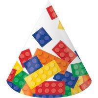Contient : 1 x 8 Chapeaux Block Party