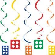 5 Guirlandes Spirales Block Party