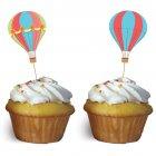 12 Pics à Cupcakes Montgolfière