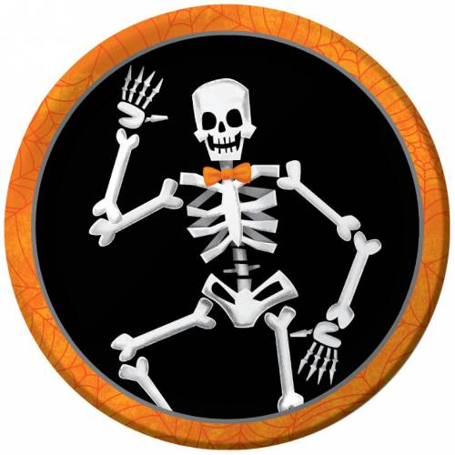 8 Petites Assiettes Squelette