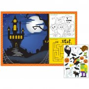 8 Sets de Table Ludique Halloween