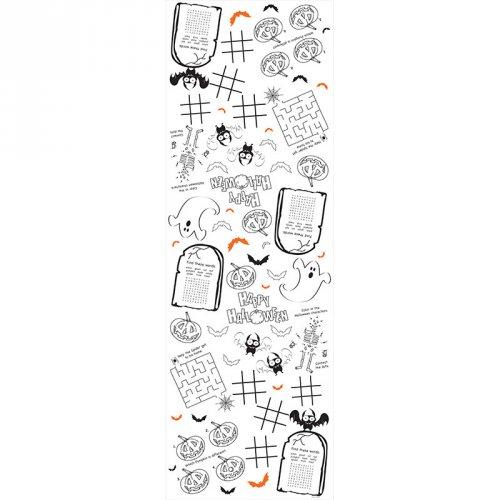 Nappe de jeux et coloriage Halloween