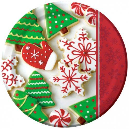 8 Assiettes Biscuits de Noël
