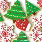 16 Petites Serviettes Biscuits de Noël
