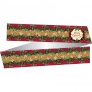 Ruban Merry Chrismas R�tro (papier)