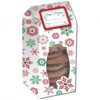 6 Boite à Biscuits Féérie de Noël