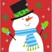 16 Serviettes Père Noël et ses Amis