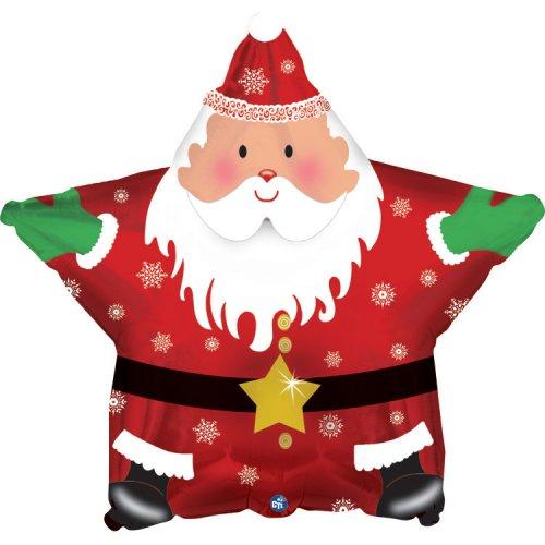 Ballon à Plat Etoile Père Noël