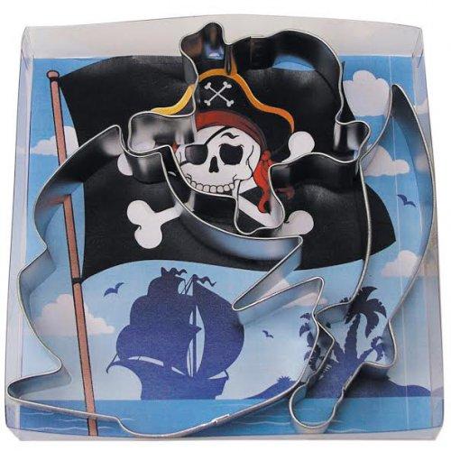 Set 3 grands Emporte-pièces Pirate