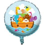 Ballon H�lium Les animaux de No�