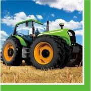 16 Serviettes Big Tracteur