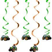 5 D�corations � suspendre Big Tracteur