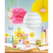18 Décorations  découpées Happy spring