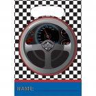 8 Pochettes à Cadeaux Speed Racing