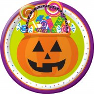 8 Petites Assiettes Halloween Fun