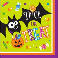 Contient : 1 x 16 Serviettes Halloween Fun