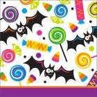 16 Petites Serviettes Halloween Fun