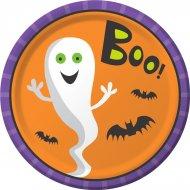 8 Assiettes Creepy Halloween