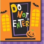 16 Serviettes Creepy Halloween