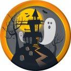 8 Assiettes Halloween Hanté