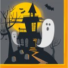 16 Serviettes Halloween Hant�