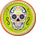 8 Assiettes Calavera Party