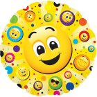 Ballon à plat Emoji Smiley - Animation vidéo