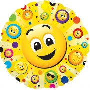 Ballon � plat Emoji Smiley - Animation vid�o