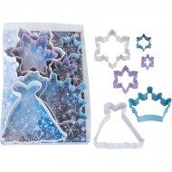 6 Emporte-pièces Princesse des Neiges
