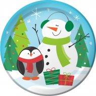 8 Petites Assiettes Copains de Noël